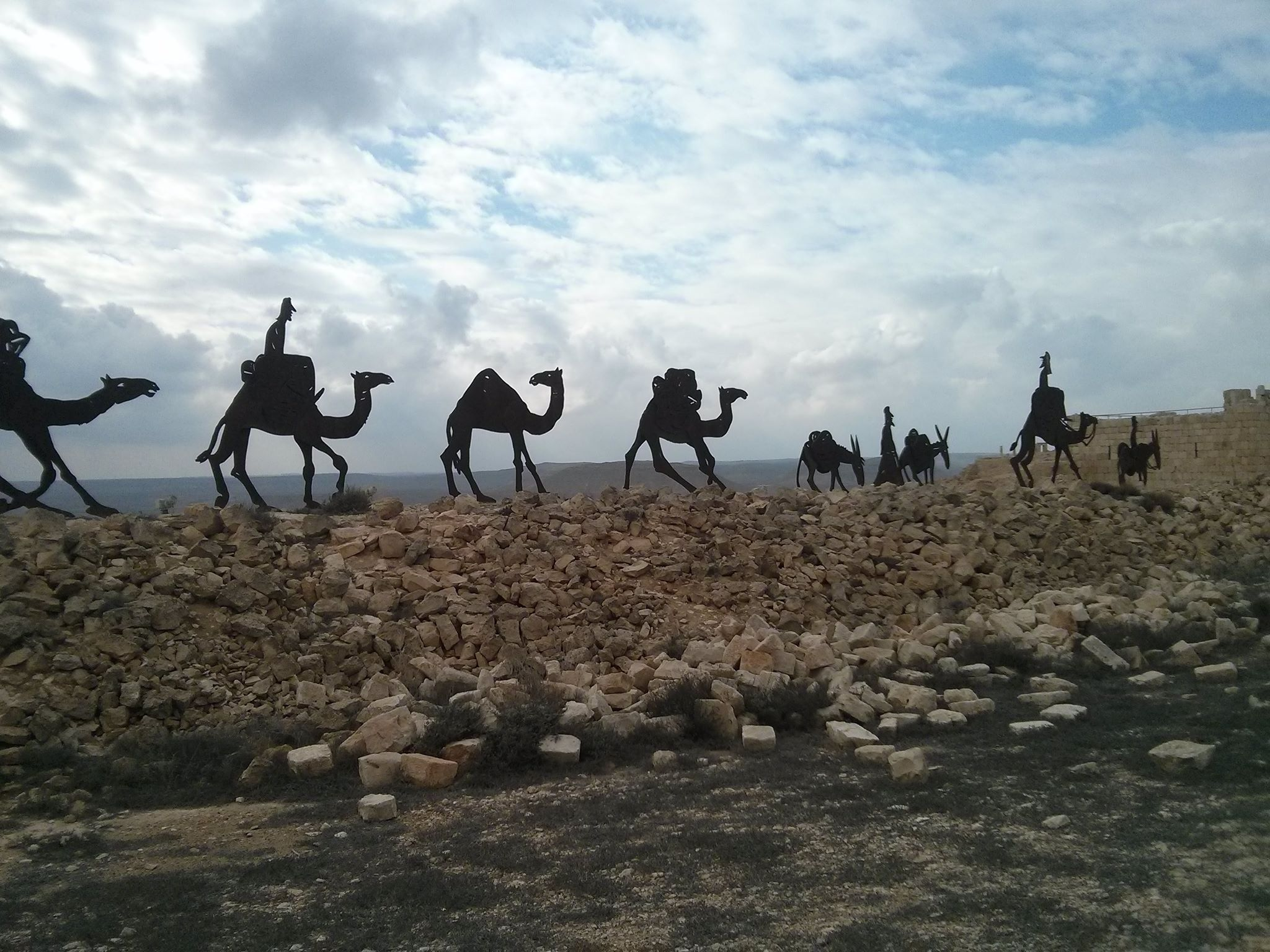 Nabatean Spice Route, Avdat