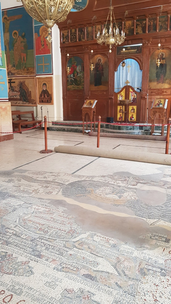 From Jordan to Jerusalem via Madaba
