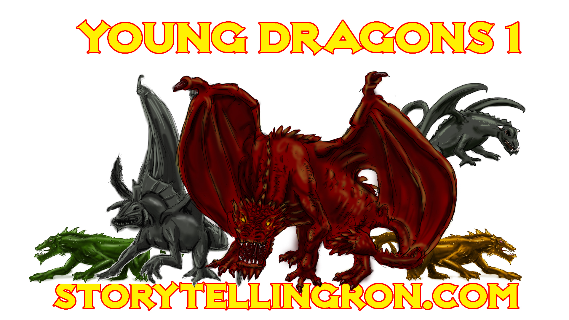 PROMO GROUP SHOT young dragons
