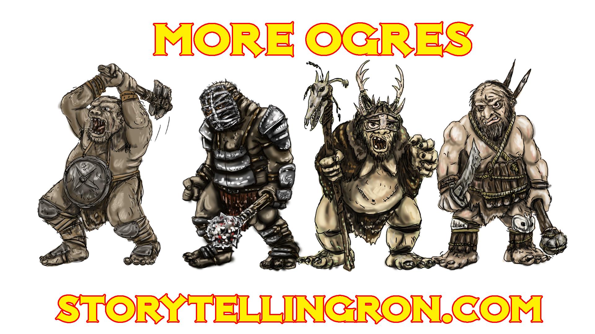 PROMO GROUP SHOT more ogres