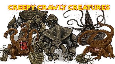 PROMO PATRON LINKS Creepy Crawly Creatur