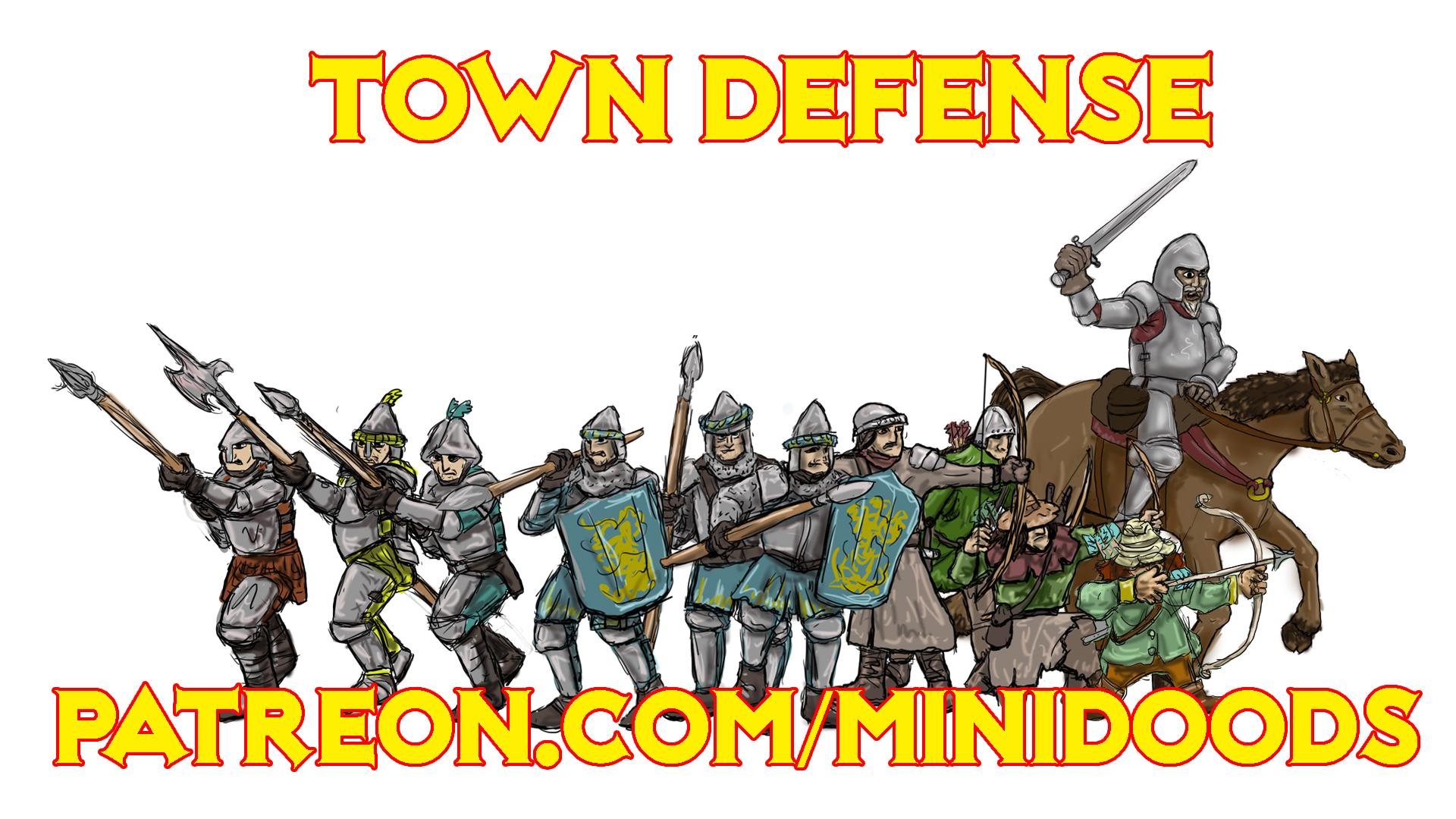 PROMO GROUP SHOT Town Defense
