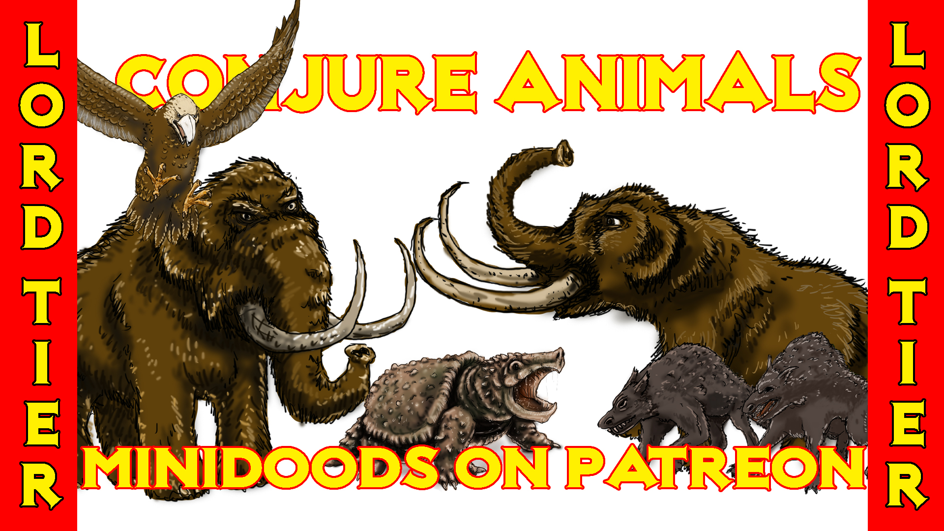 PROMO GROUP SHOT conjure animals part 2