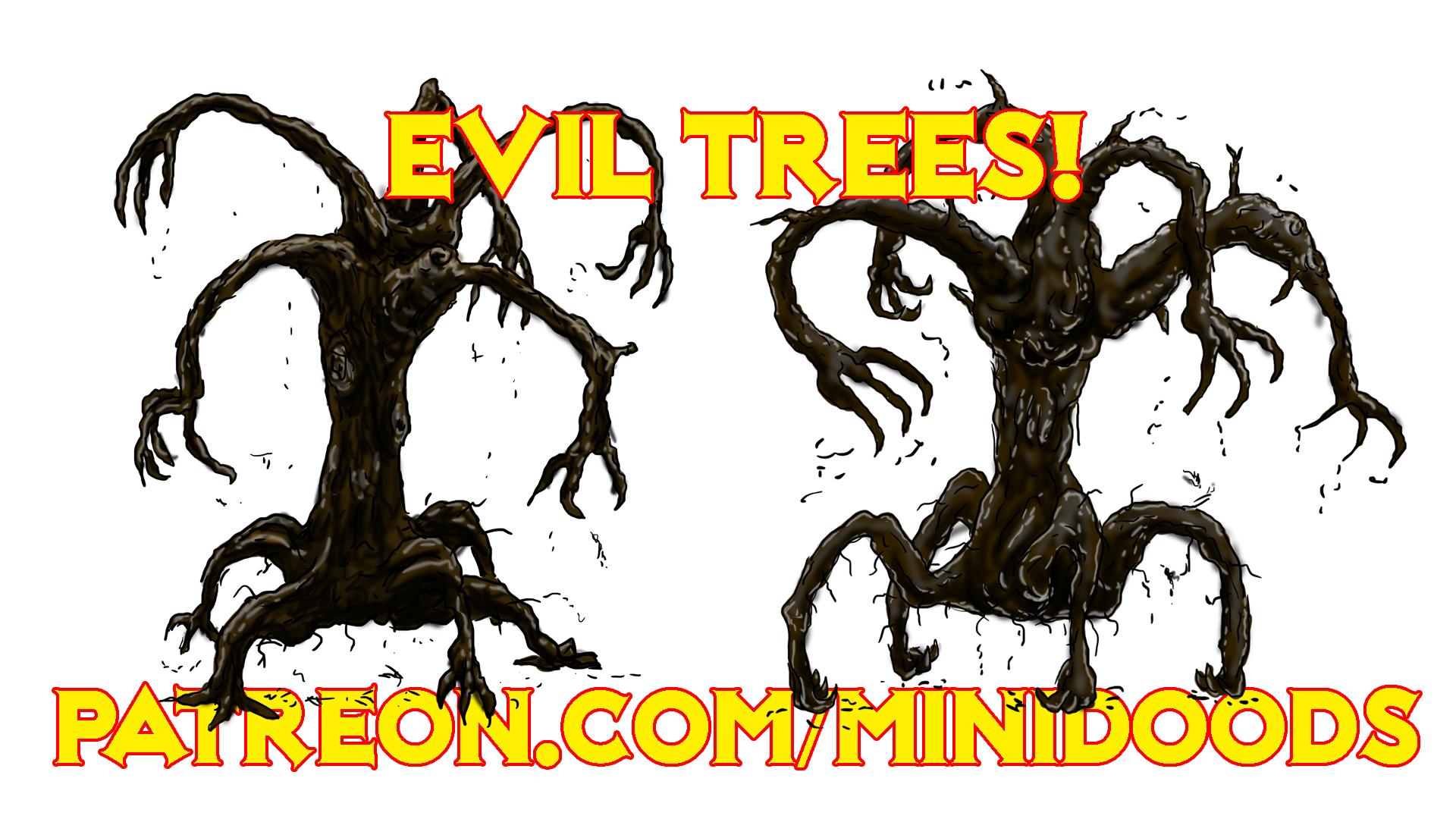 PROMO GROUP SHOT evil trees