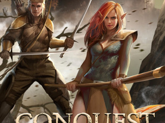 New fantasy book serial, Conquest of the Evermire is published.