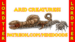 PROMO GROUP SHOT Arid Creatures Lord Tie