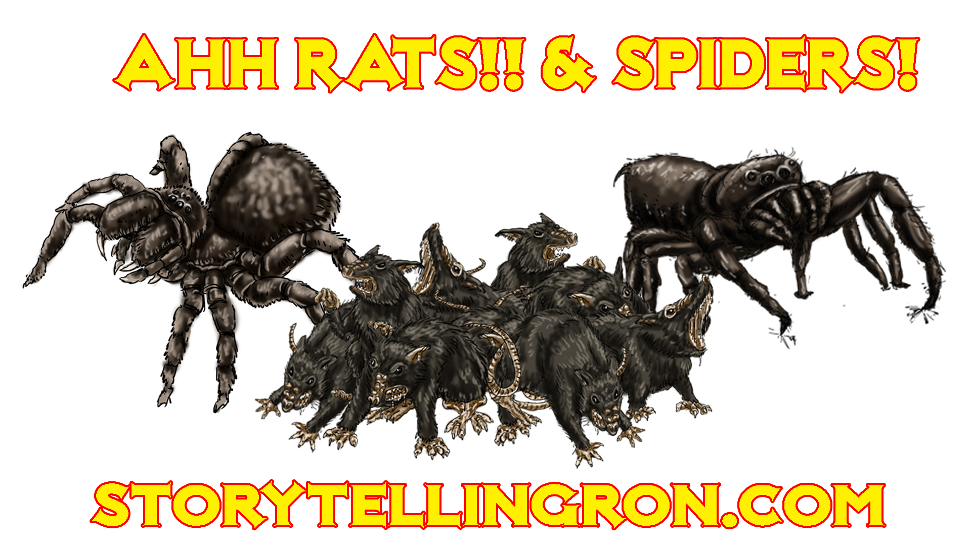 PROMO GROUP SHOT rats & spiders