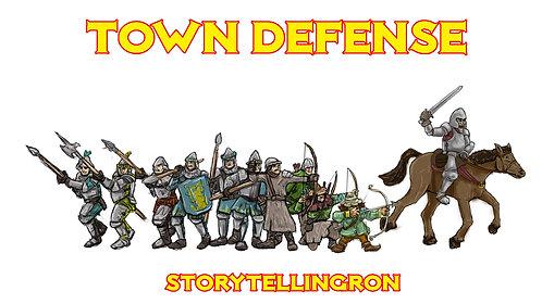 Minidoods, Town Defense