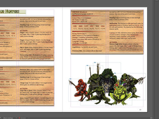"""Almost Done With M'Kickstarter """"Conquest of the Evermire"""""""