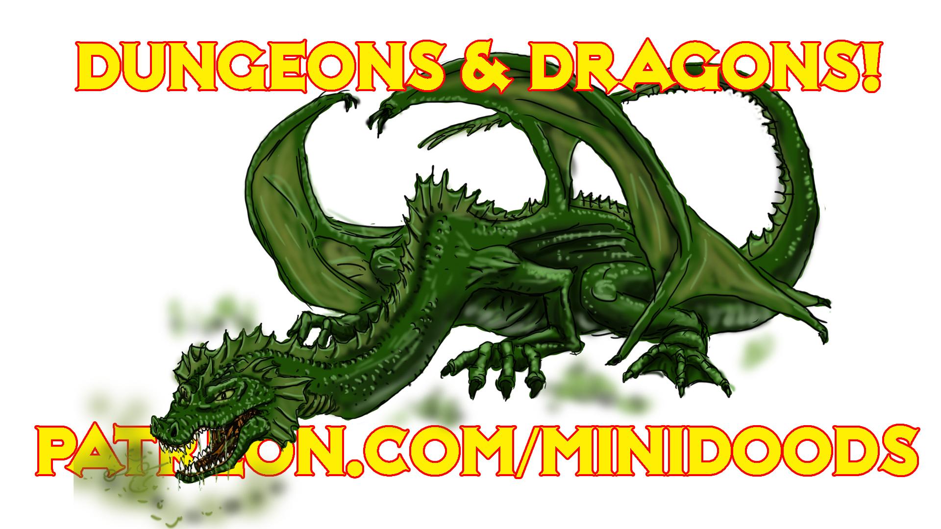 PROMO dragon green