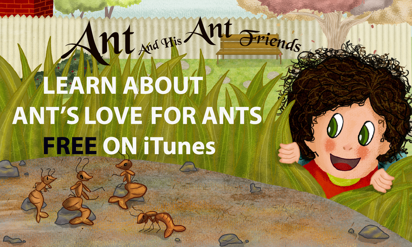 Ant And His Ant Friends