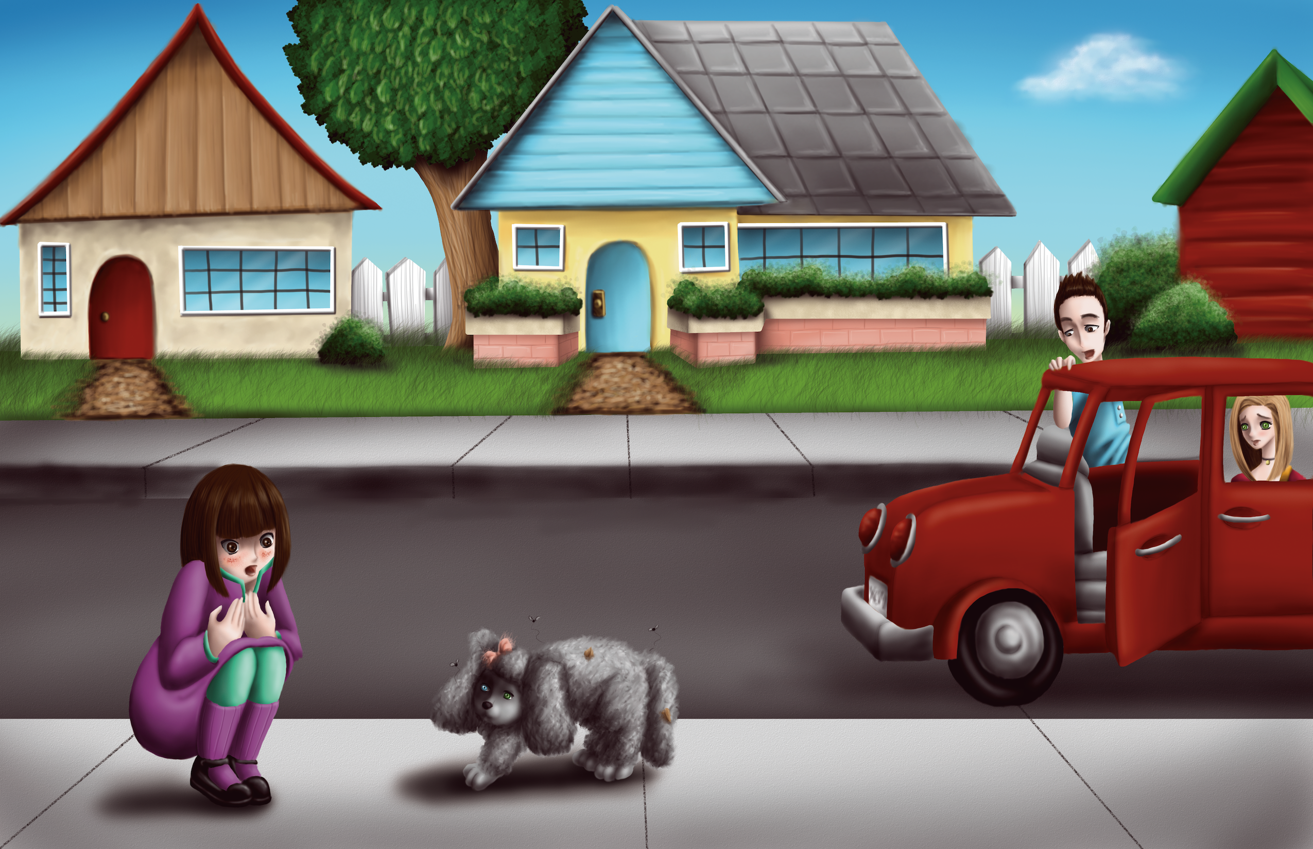 Lucy And Pepper: A Little Dog Lost