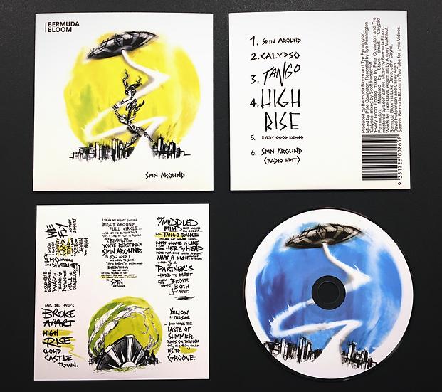 Bermuda Bloom - Spin Around CD