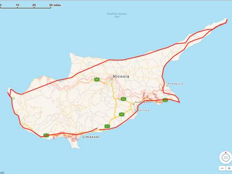 Cyprus Circumnavigation  2016