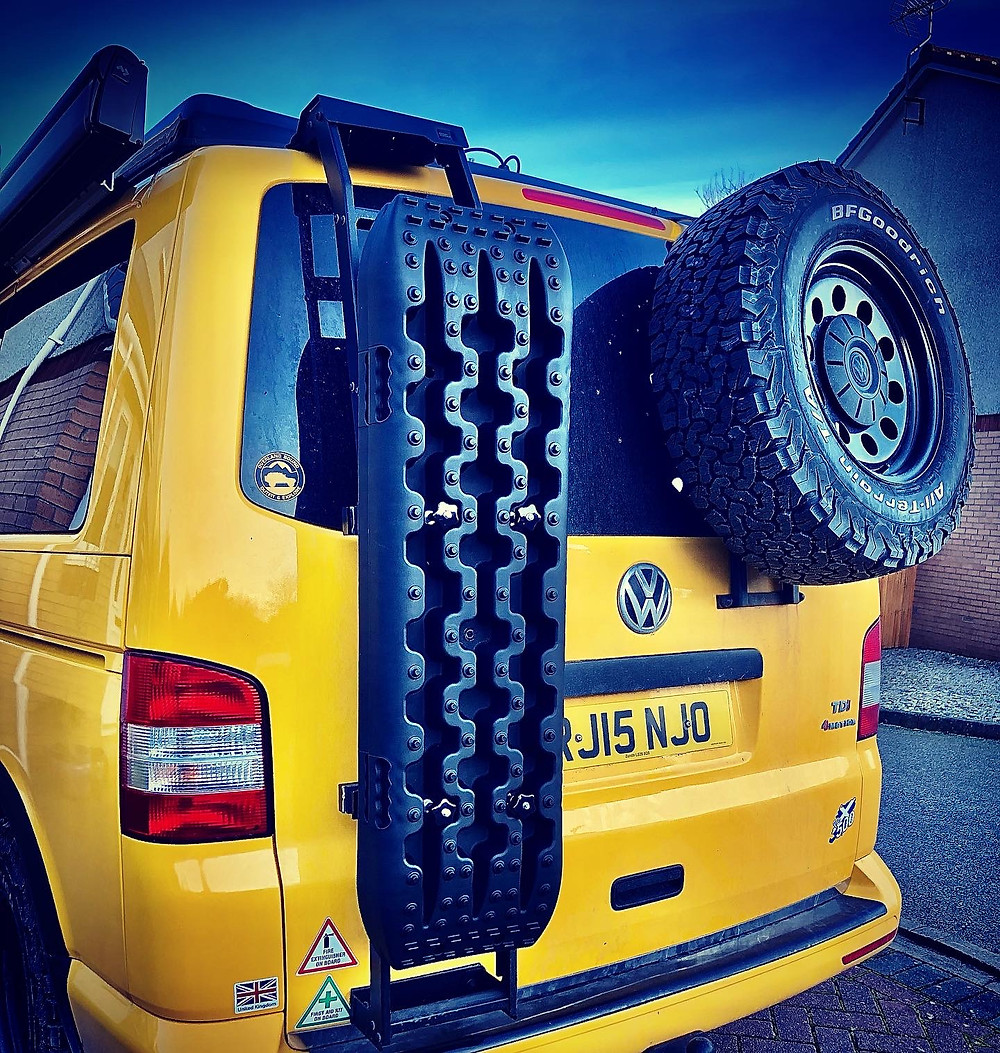 VW Swamper Recovery / Levelling Ladders