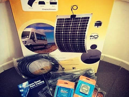 Trailer Solar Power Upgrade