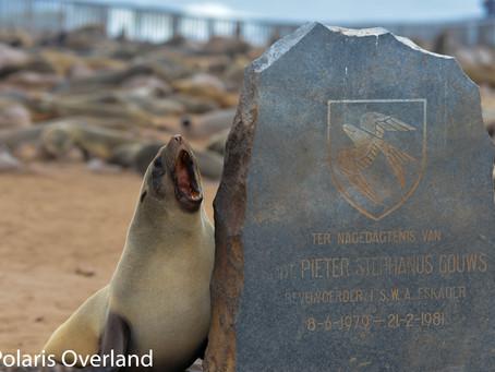 Namibia Day 6 - Spitzkoppe to Ugab Rhino Camp.