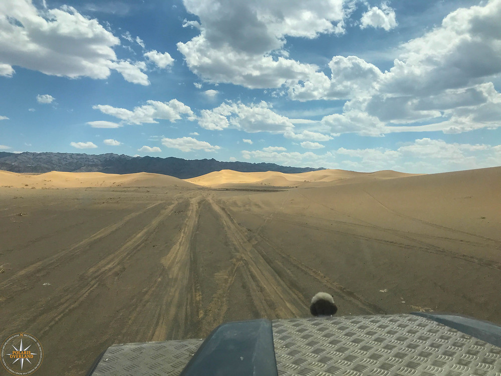 Typical Mongolian Route -Gravel and Mud