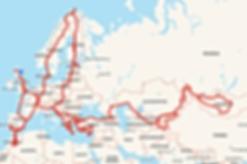 Polaris Overland Travel Map
