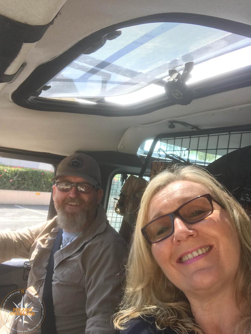 On the road to Kyrenia