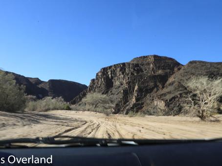 Namibia Day 7 - Ugab River Camp to Moweni Mountain Camp