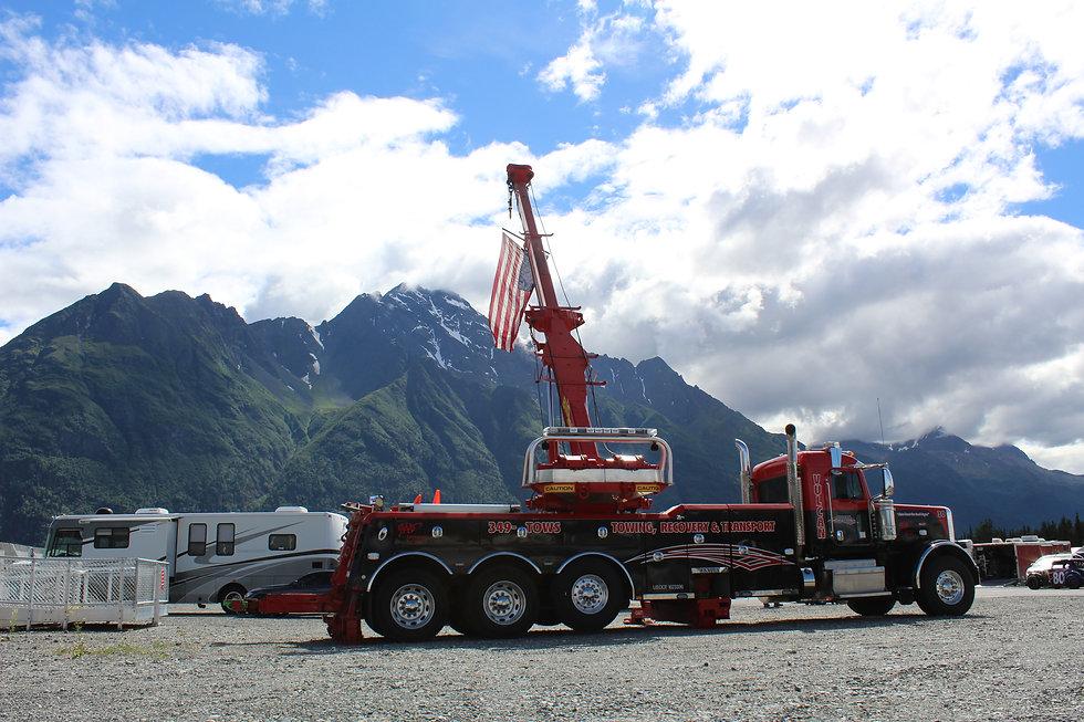 big hook towing truck for vulcan towing