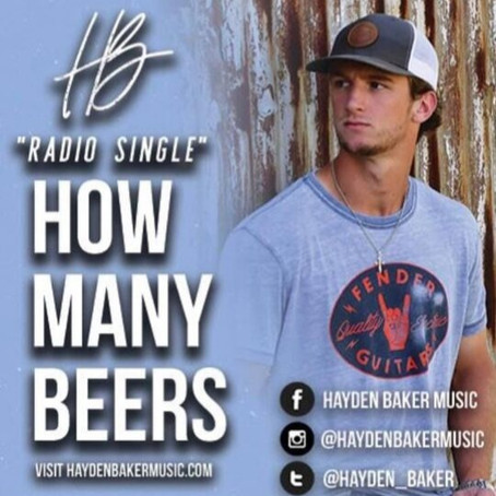 HOW MANY BEERS COMES IN AT #1 ON THE CDX SURGING AND EMERGING RADIO CHART