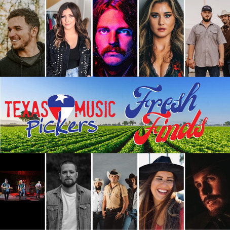 "HAYDEN BAKER FEATURED IN TEXAS MUSIC PICKERS ""FRESH FINDS"" VOL. 3"