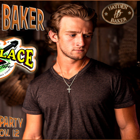 HAYDEN BAKER CD RELEASE PARTY, NOV 12TH AT MO'S PLACE KATY