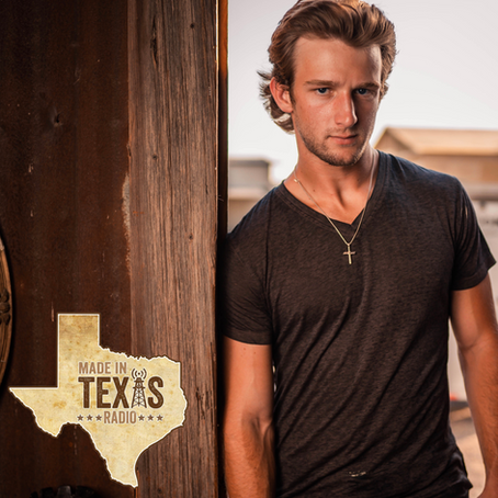HAYDEN BAKER FEATURED ON MADE IN TEXAS RADIO.