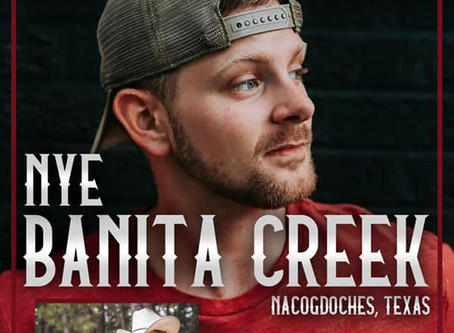 HAYDEN BAKER TO SHARE THE STAGE WITH JOEY GREER AT BANITA CREEK HALL ON NYE