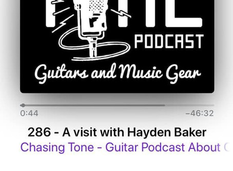 HAYDEN BAKER FEATURED ON THE CHASING TONE PODCAST
