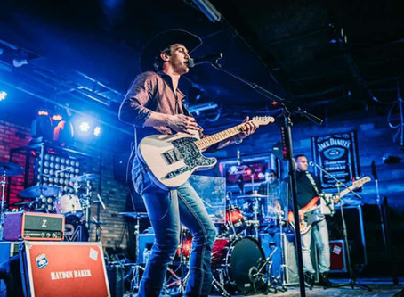 Hayden Baker to perform at Cane Island Summer Concert Series on July 18th