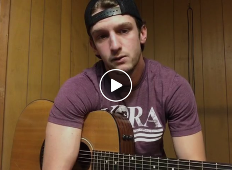 """HAYDEN BAKER REACHES NEARLY 40K VIEWS OF """"A DREAM: THE BASEBALL SONG"""" ACOUSTIC VERSION"""