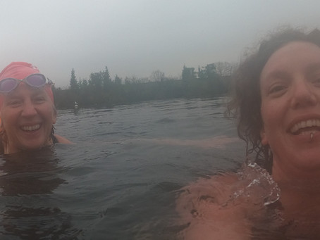 SWIMMINGPOD – KRISTIE WALLER AND JUDY PEARSALL, WOMEN WHO SWIM TOGETHER