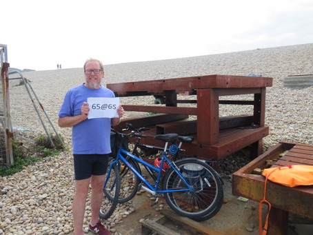 65@65 THE LAST SWIM – ON CHESIL BEACH