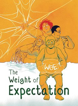 Weight of Expectation by Oli Williams and Jade Sarsonront cover