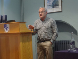 Geof Rayner delivers the keynote