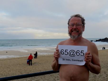65@65 SWIM #38 ST IVES, PORTHMEOR BEACH