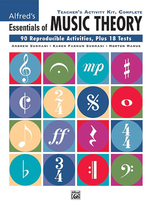 Essentials of Music Theory: Teacher's Act. Kit