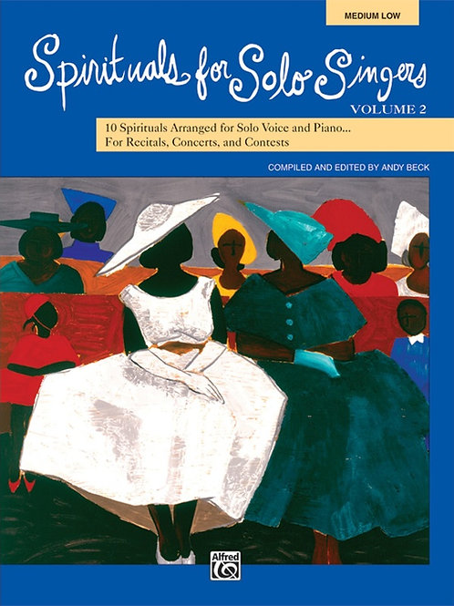 Spirituals for Solo Singers Vol. 2 - ML