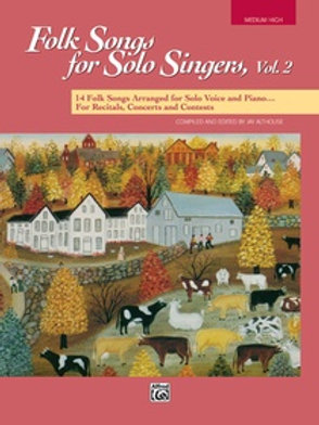 Folk Songs for Solo Singers Vol.2