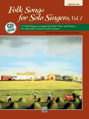 Folk Songs for Solo Singers Vol. 1