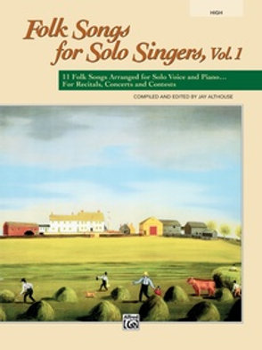Folk Songs for Solo Singers Vol. 1