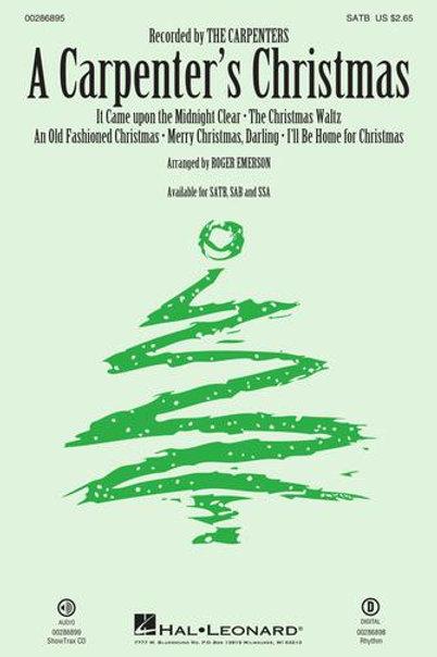 A Carpenter's Christmas - SATB