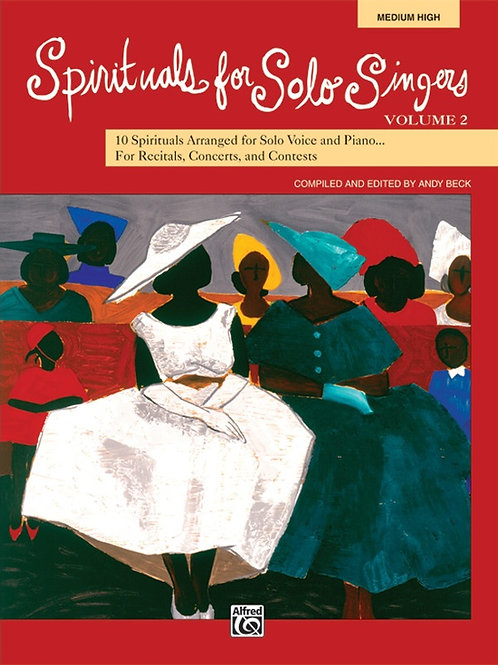Spirituals for Solo Singers Vol. 2 - MH