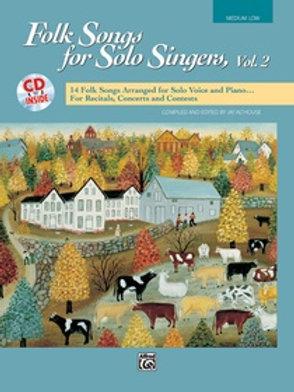 Folk Songs for Solo Singers Vol. 2