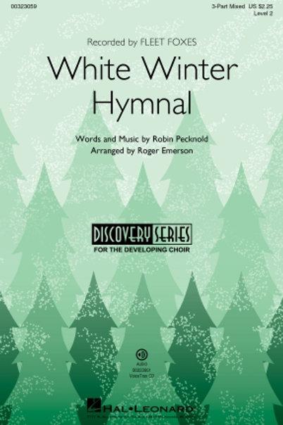 White Winter Hymnal - CD