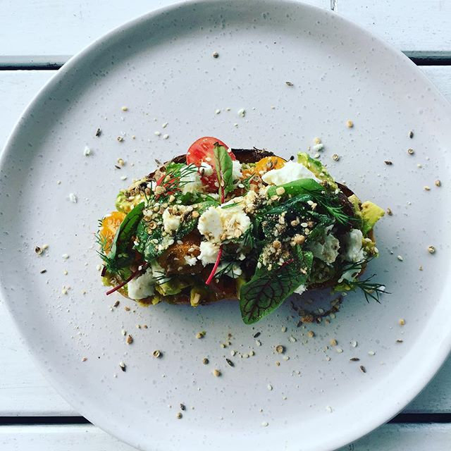 Avo on toast _bowerbirdcatering hq this
