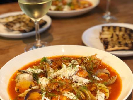 zuppa di pesce! your new go to dish to impress friends and influence people!